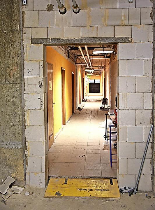 Fluchtwege: Manche Mauer musste weichen, andere kamen neu hinzu.  | Foto: Robert Bergmann
