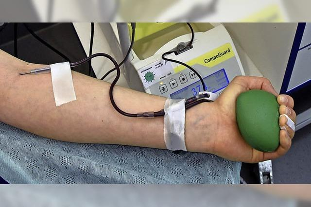 In Murg zur Blutspende
