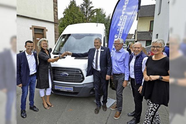 Ein Auto für die Freiburger Tafel