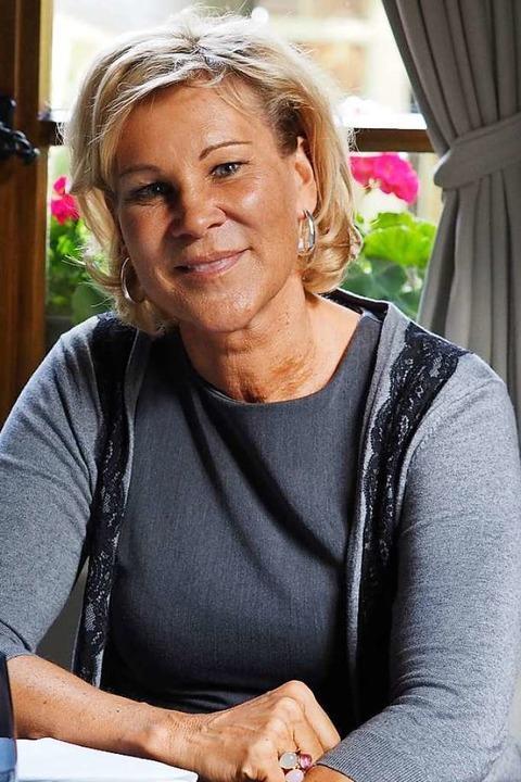 Katja Newman in den neuen Adler Stuben   | Foto: Susanne Gilg