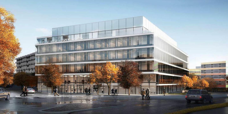 So soll der Neubau aussehen.  | Foto: ETH Nickl & Partner