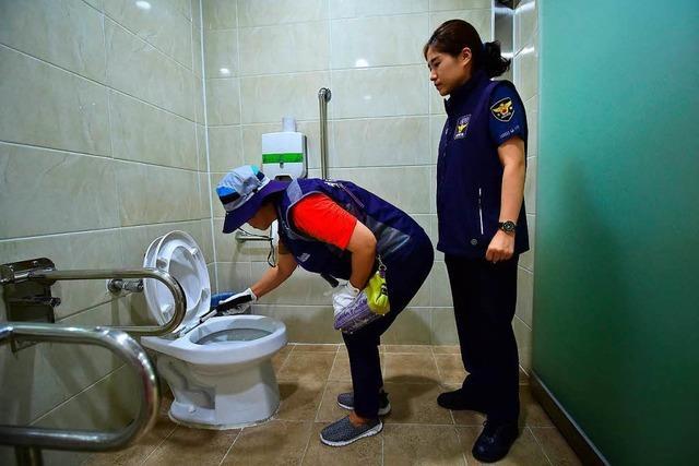 Mini-Kameras auf Damentoiletten sorgen für Entsetzen