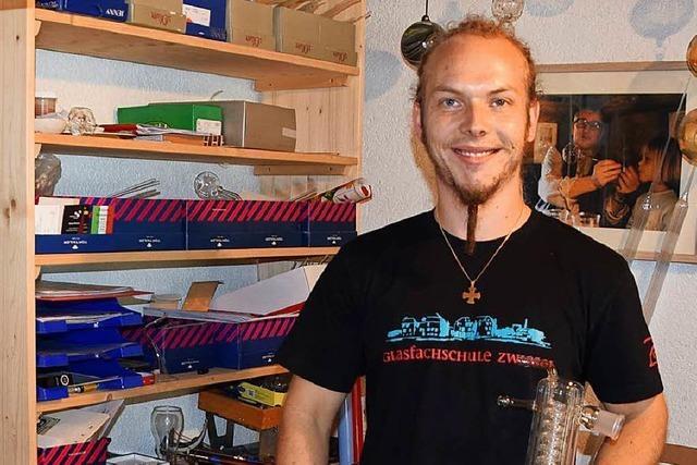 26-Jähriger führt Glasbläser-Tradition in Todtnauberg fort