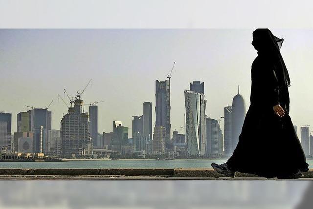 Ein Kanal, der Katar zur Insel machen würde