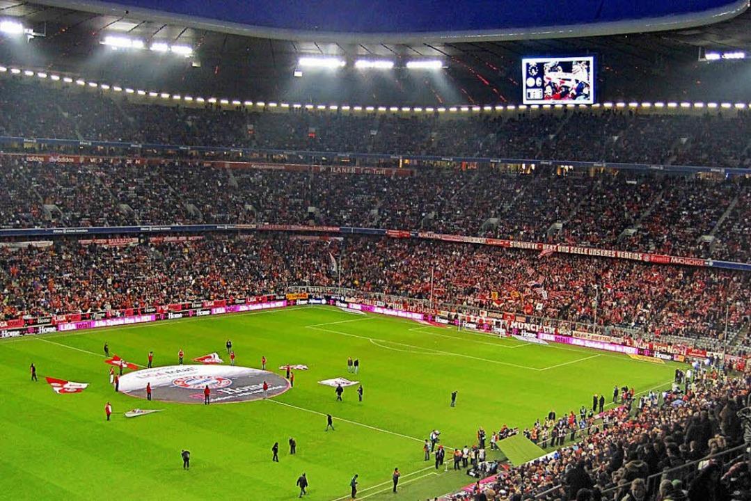 Ein Spiel in der Allianz-Arena ist ein Erlebnis.  | Foto: Uwe Müller