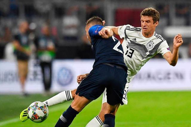 Nullnummer als Mutmacher: Deutschland - Frankreich (0:0)