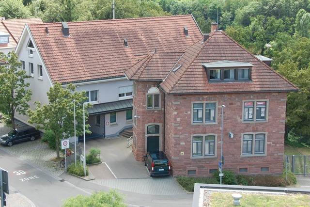 Die Landespolizei plant einen Neubau in Weil am Rhein