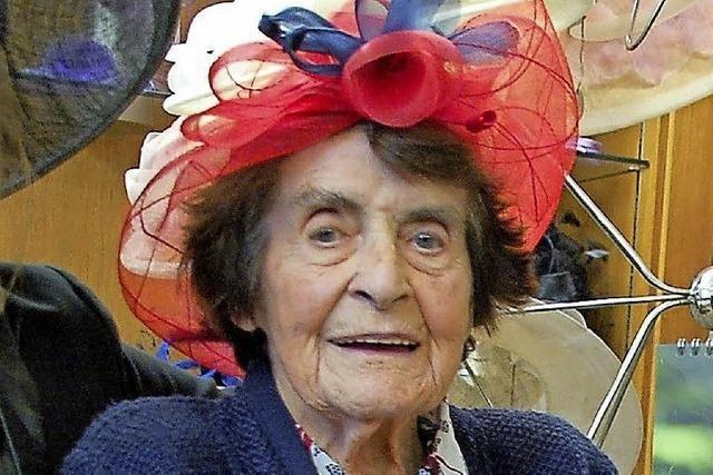 Hutmacherkönigin Ruth Stoll ist gestorben
