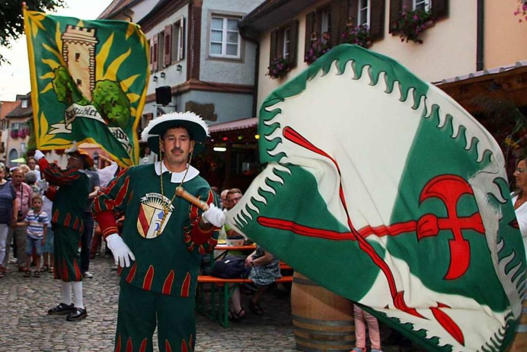 Stadtgeschichte und Traditionen stehen...n Burkheimer Weintagen im Mittelpunkt.  | Foto: Herbert Trogus