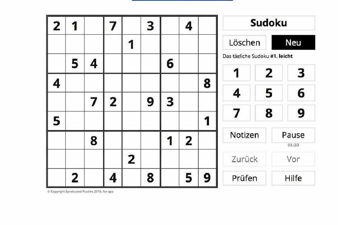 In der BZ-App kann man auch Sudoku spi...nd auf allen modernen Android-Geräten.  | Foto: bz