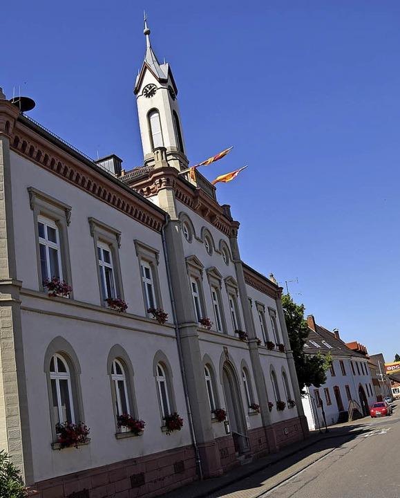 Im Auggener Rathaus dürfen die Sorgenbrecher   nicht mehr proben.   | Foto: Beatrice Ehrlich