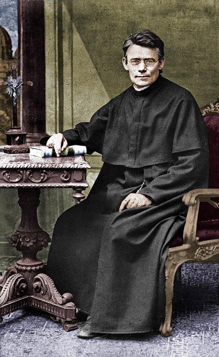 Der Ordensgründer im Mutterhaus in Rom...rdensfrauen, Ordensmännern und Laien.   | Foto: Salvatorianer-Archiv