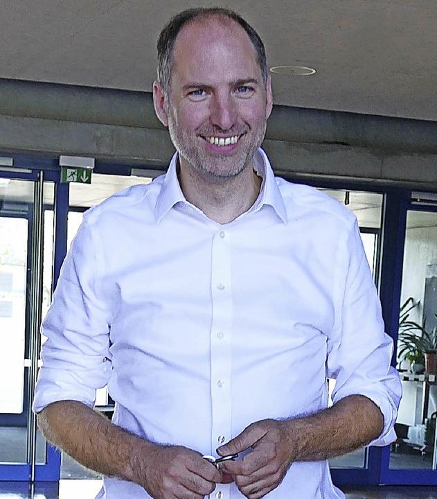 Rainer Kügele ist neuer Rektor am Kreisgymnasium Neuenburg  | Foto: Margareta Holzreiter