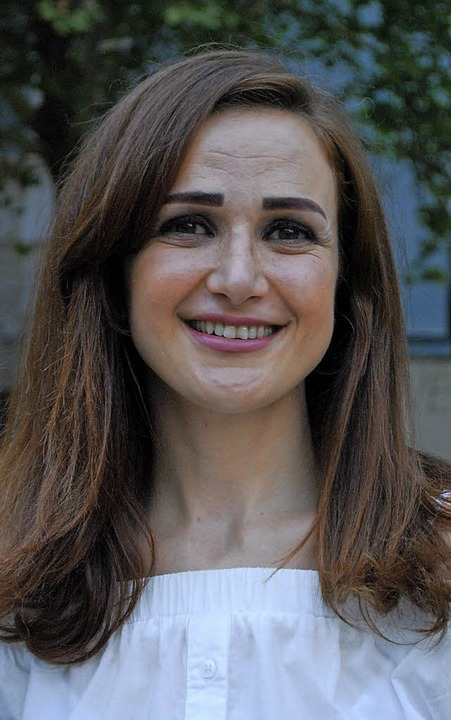 Dina Alissa aus Syrien hat mit großem Tempo  Fuß gefasst, auch beruflich.  | Foto: Thomas Loisl Mink