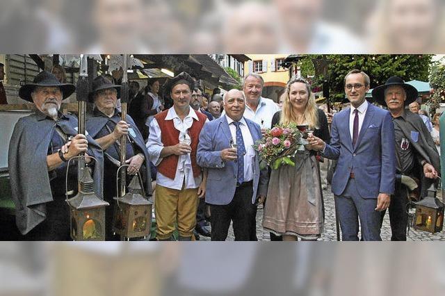 Die Burkheimer Weintage sind eröffnet