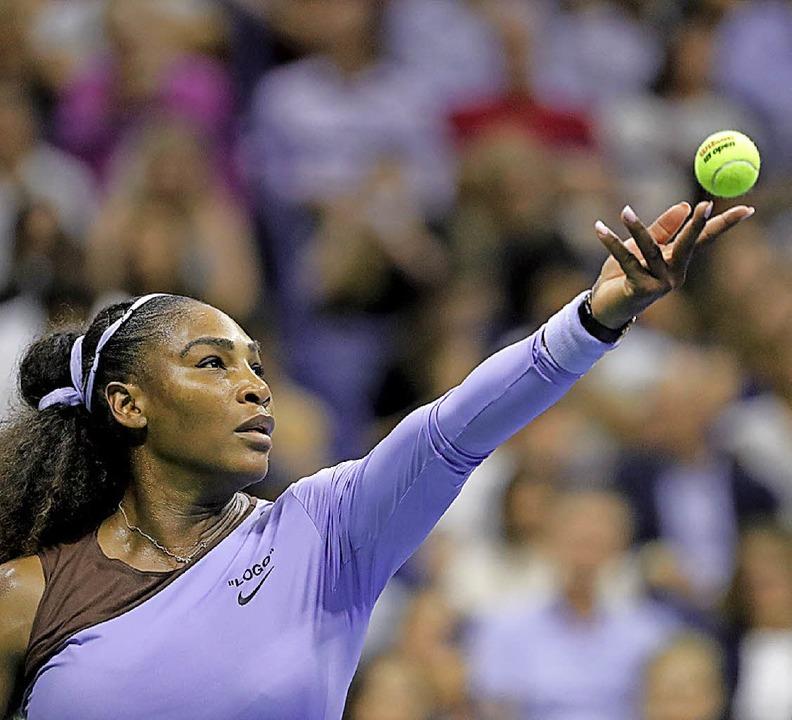 Rekordjägerin Serena Williams<ppp></ppp>  | Foto: dpa