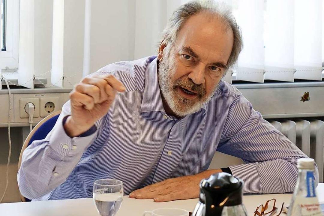 Ulrich Spinner  | Foto: Wolfgang Grabherr