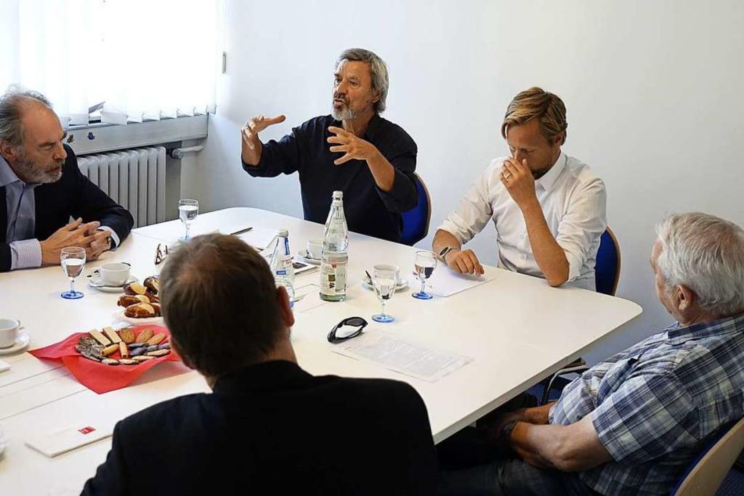 Die Diskussionsrunde  | Foto: Wolfgang Grabherr