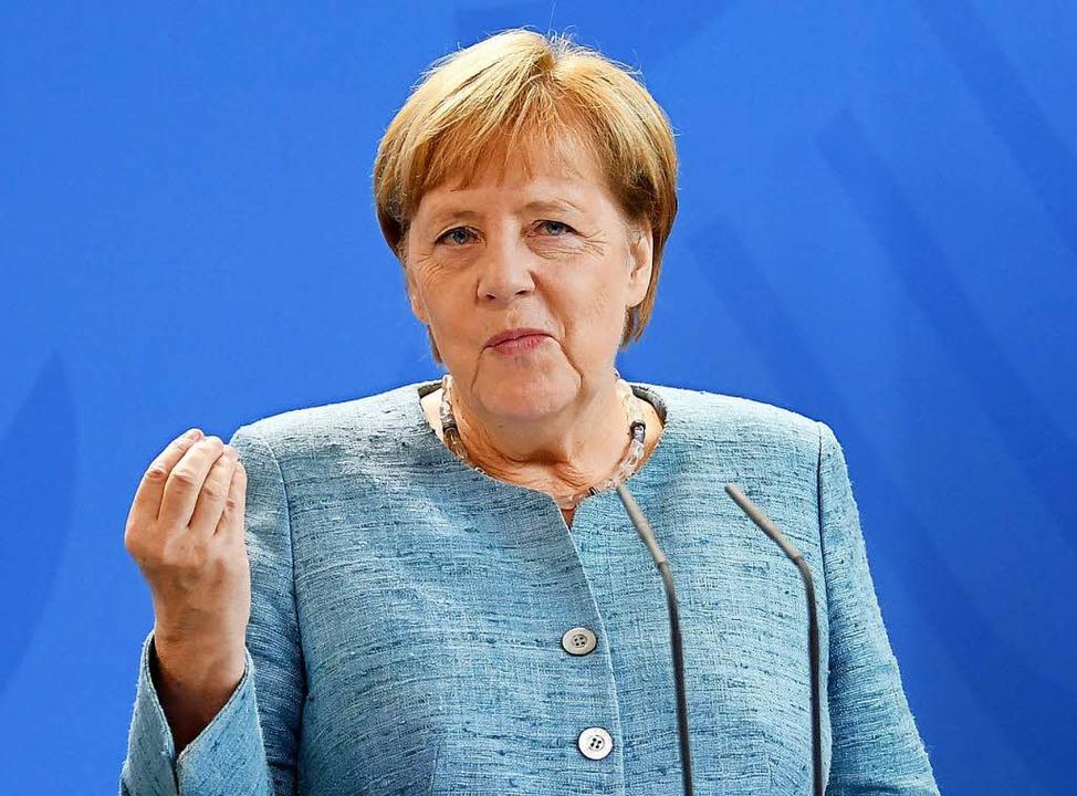 Bundeskanzlerin Angela Merkel   | Foto: DPA