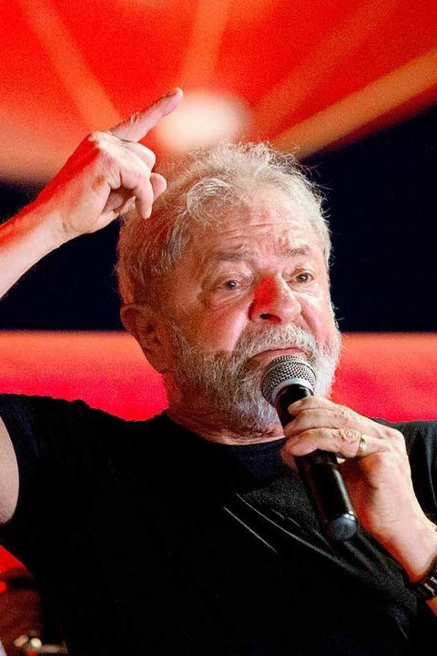 Luiz Inácio Lula da Silva im Januar 2018  | Foto: DPA