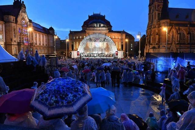 Tausende demonstrieren erneut in Chemnitz – noch mehr hören lieber Beethoven