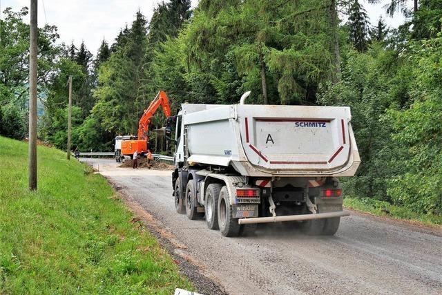 Landesstraße 155 zwischen Wehr und Bergalingen wieder befahrbar