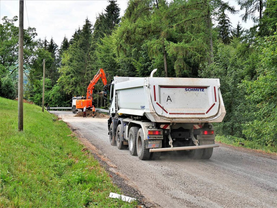 Die Bauarbeiten an der L155 zwischen Wehr und Bergalingen sind abgeschlossen.  | Foto: Jörn Kerckhoff
