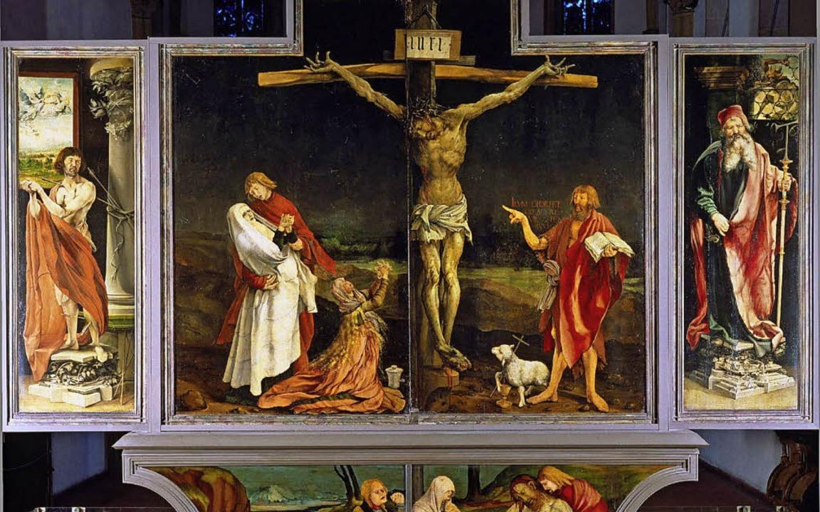Den Bildern des Isenheimer Altars &#82...ogenannten Antoniusfeuer  nachgesagt.   | Foto: Fotos: Musée Unterlinden/Christian Kempf