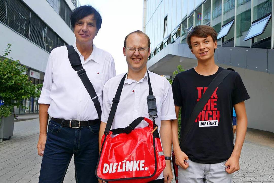 Jörg-Uwe Sanio, Volker Hügel und Felix Rogge (von links)  | Foto: Ralf H. Dorweiler