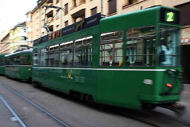Tramgleise in Basel werden zwischen Messeplatz und Eglisee erneuert