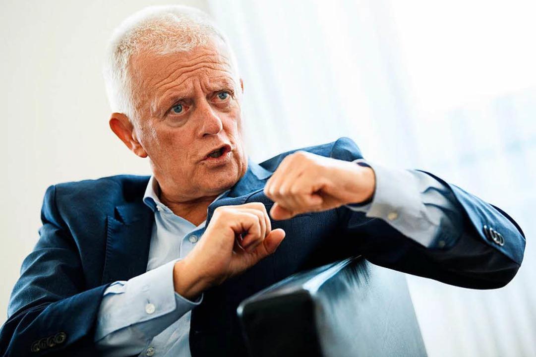 Der Stuttgarter Oberbürgermeister Fritz Kuhn (Grüne)  | Foto: dpa
