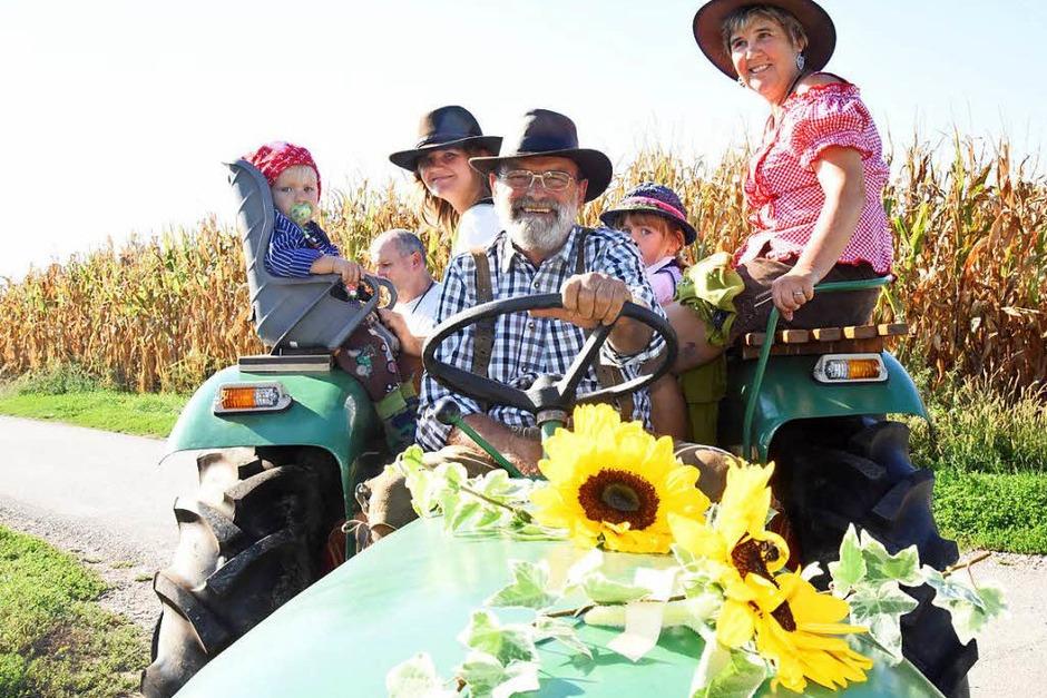Ein Traktor hält viele Generationen (Foto: Markus Zimmermann)