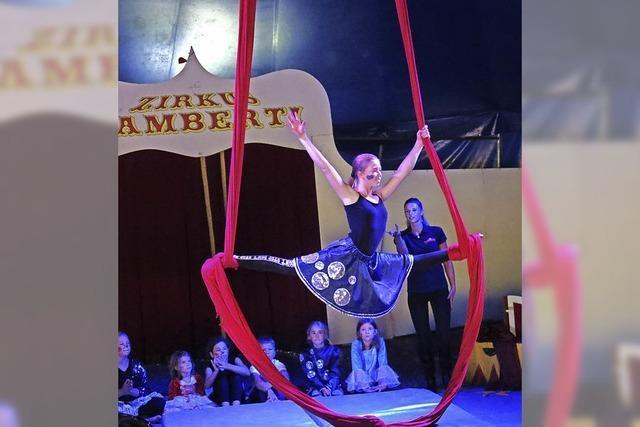 Akrobatik und Clownerien