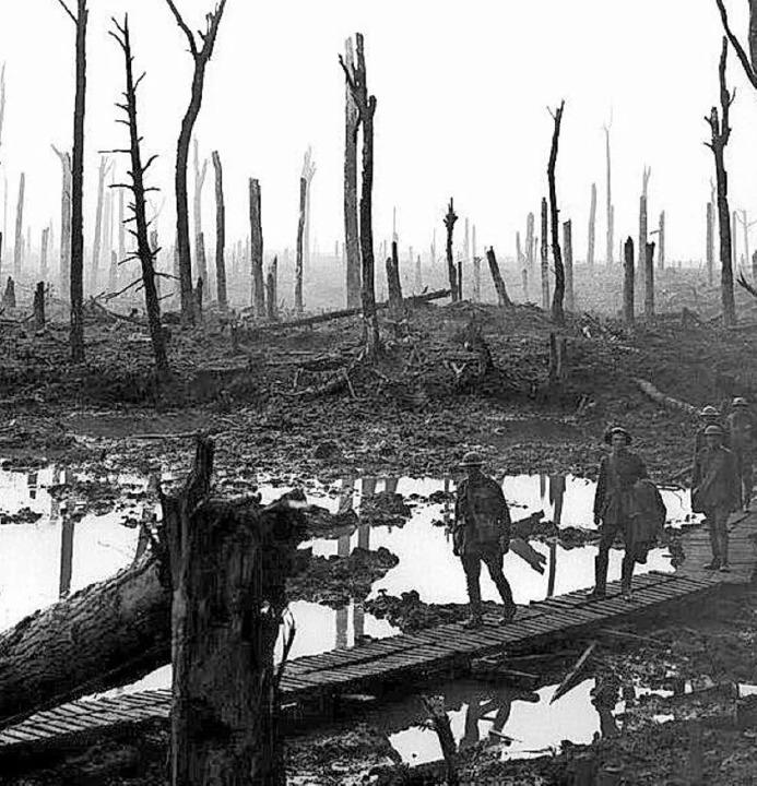 Die Westfront im Jahr 1916  | Foto: Privat