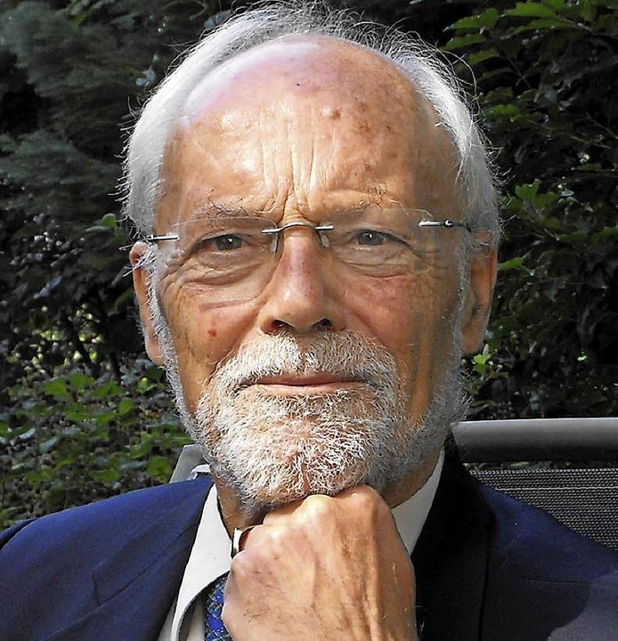Besonders der Bildungspolitik hatte sich Wolfgang Heinz verschrieben.   | Foto: Susanne Müller