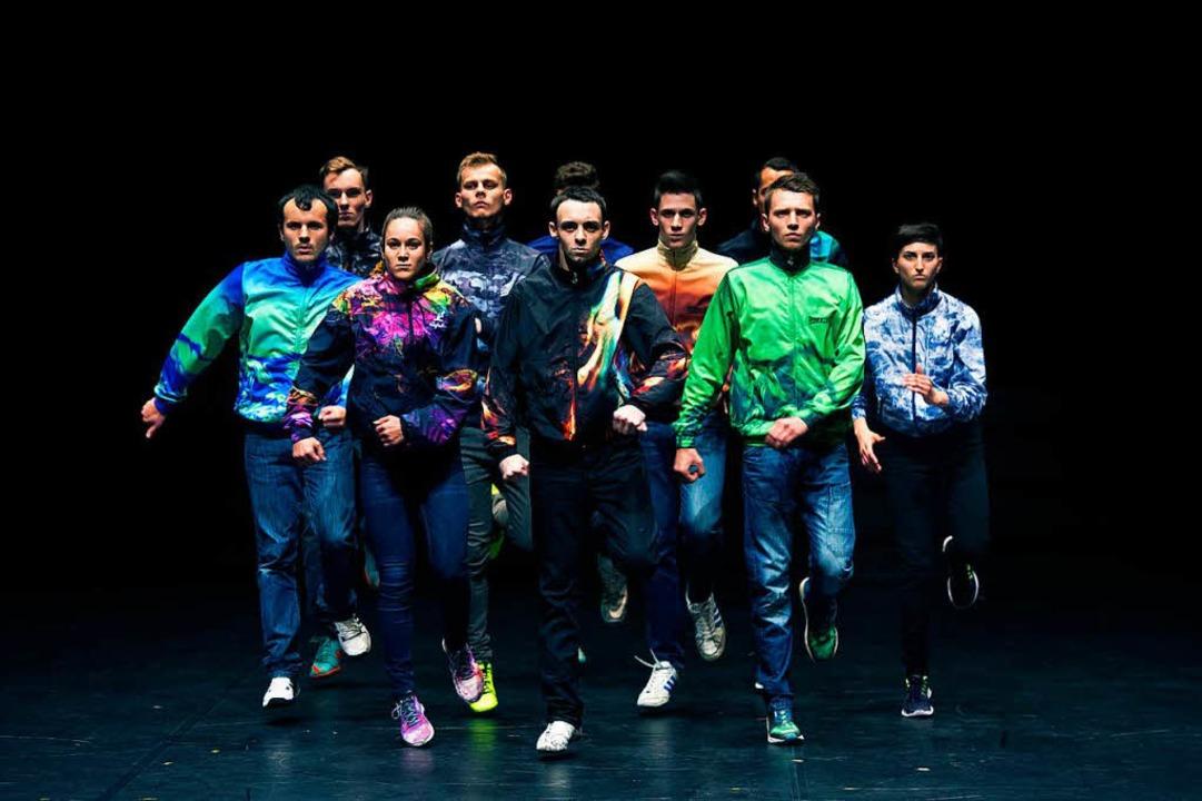 Leidenschaft für den Jumpstyle: das Ensemble La Horde  | Foto: Laurent Philippe