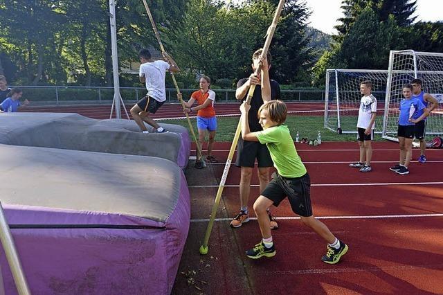 Trainingscamp bei den Leichtathleten
