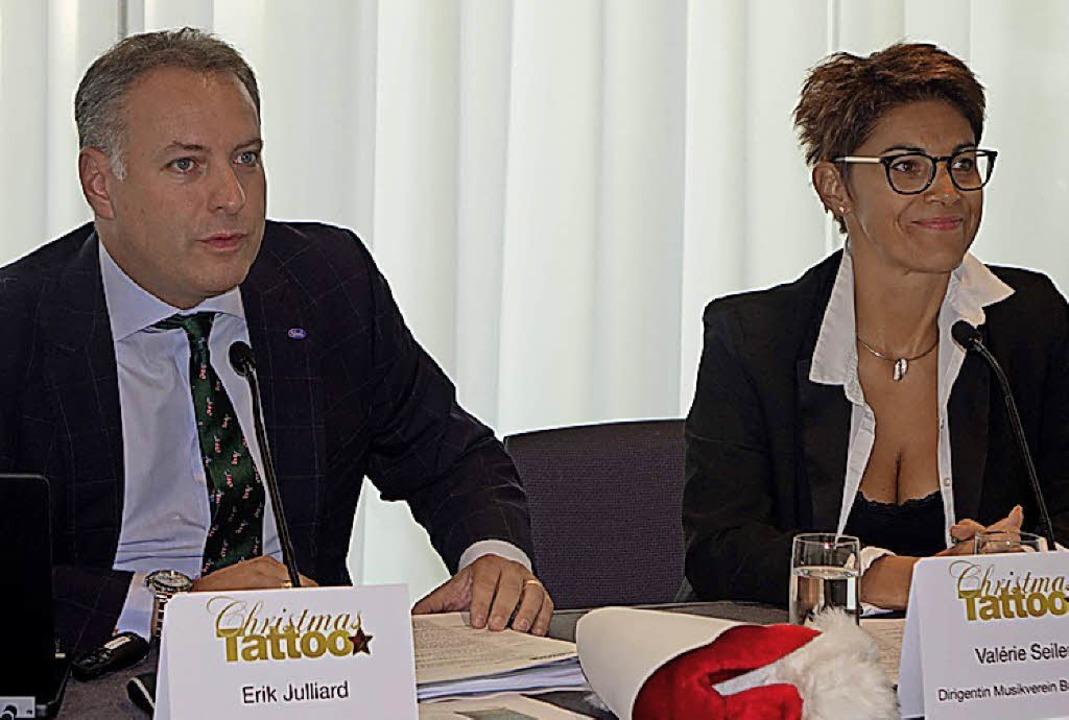 Erik Julliard und  Valérie Seiler  | Foto: Frey
