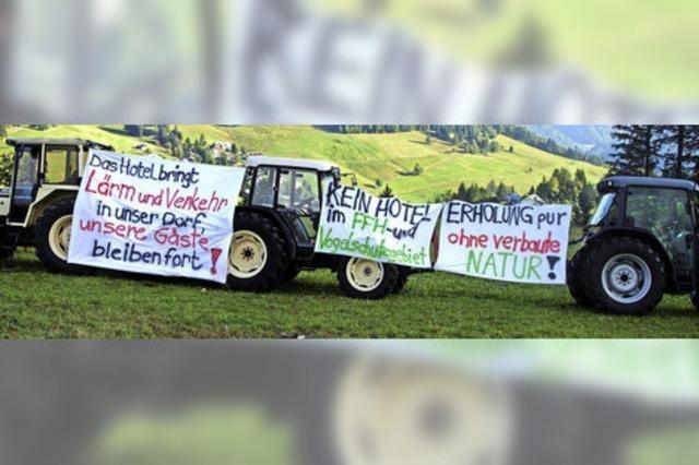 Protest-Demo gegen Bettenburg
