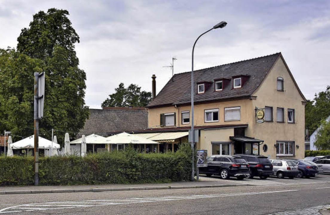 Der Schützen an der Breisgauer Straße ... heute noch ein Ort der Gastlichkeit.   | Foto: Michael Bamberger