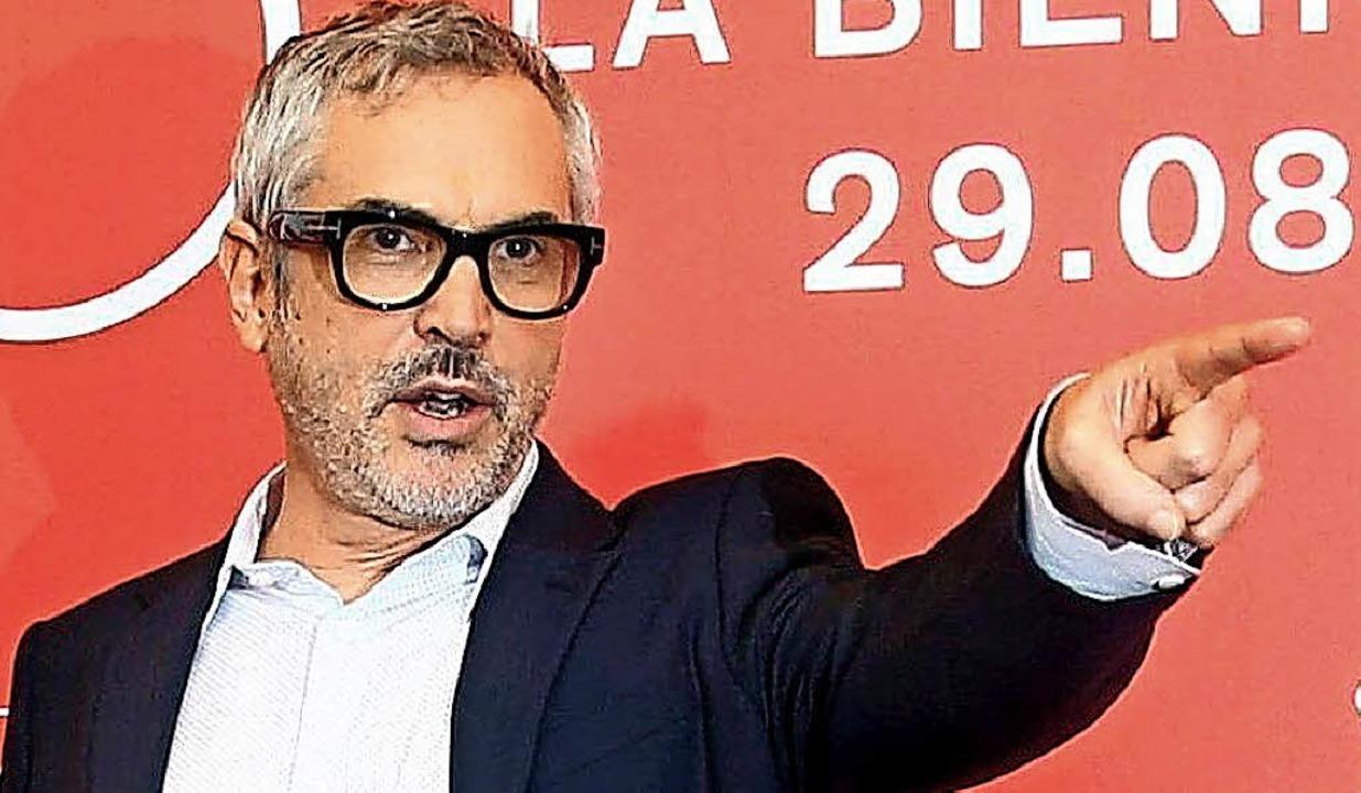 Sieger: Regisseur Alfonso Cuvan   | Foto: dpa