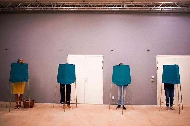 Prognose: Sozialdemokraten in Schweden vorn - Rechtspopulisten stark