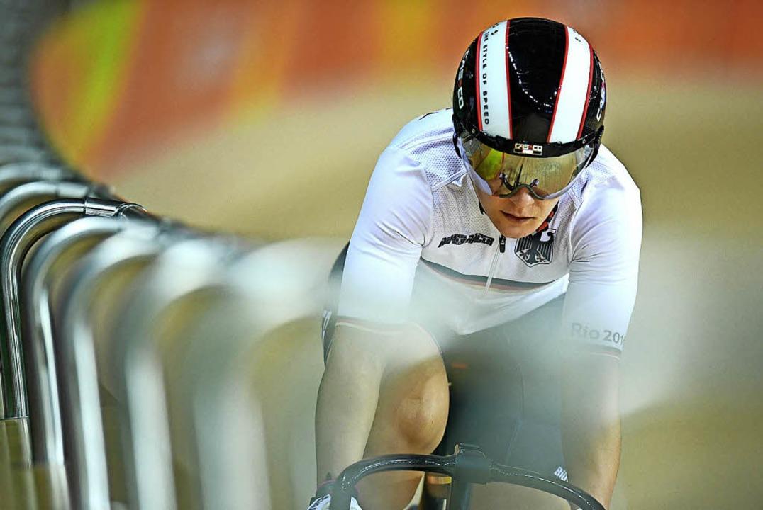 Kristina Vogel 2016 bei den Olympischen Spielen in Rio de Janeiro   | Foto: DPA