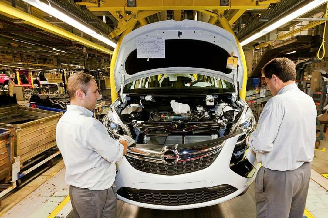 Eines der modernsten Automobilwerke de...das Opel-Werk Rüsselsheim Adam Opel AG  | Foto: Adam Opel AG