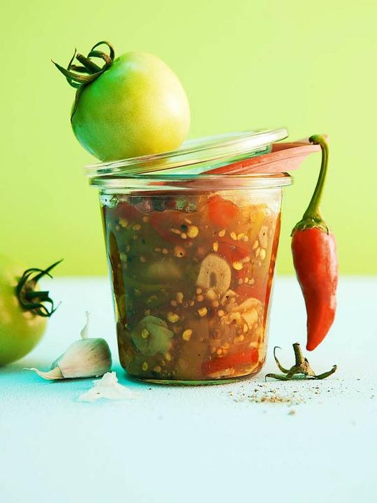 Chutney aus grünen Tomaten  | Foto: Michael Wissing