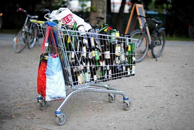 Prügelei unter Flaschensammlern von der Polizei beendet