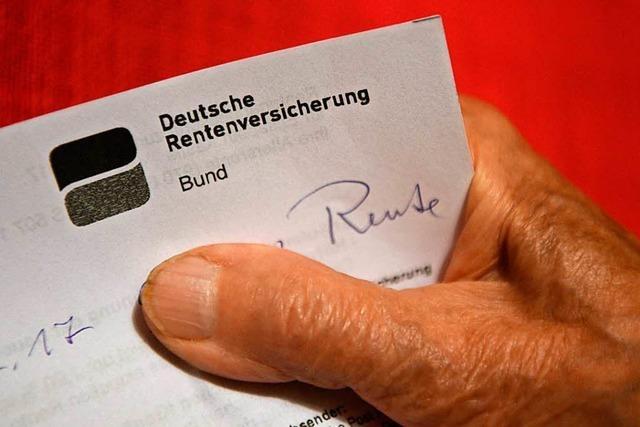 Peter Weiß zum Rentenpaket: