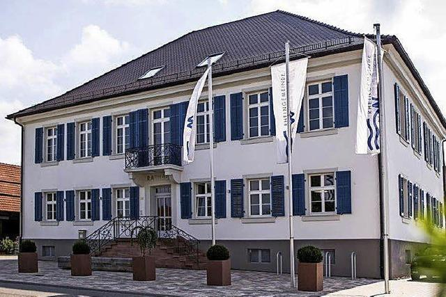 Die Rathausgebäude in Weisweil und Vörstetten zeigen, was man aus alter Bausubstanz machen kann