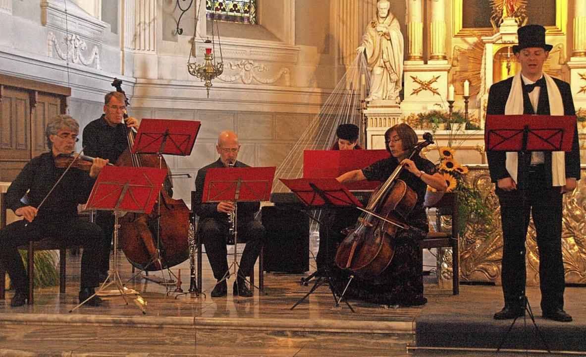 Unterhaltung vom Feinsten bot das Ense...tagabend in der Kirche in Herrischried  | Foto: Karin Stöckl-Steinebrunner