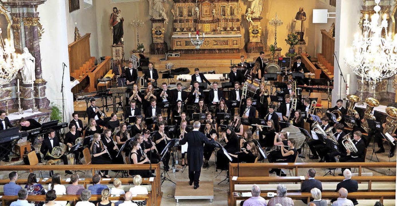 Ein unvergessliches Konzert  bot das V...s Hochrhein am Sonntag in Schliengen.   | Foto: Dorothee Philipp